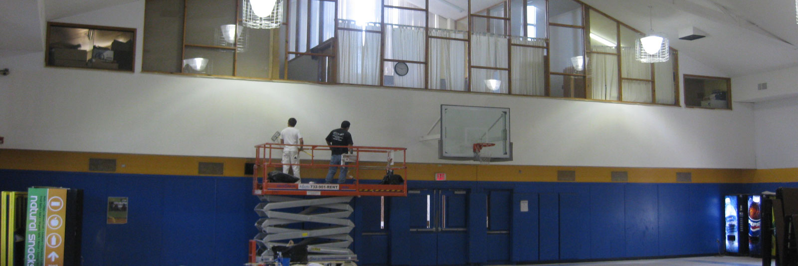 School Gymnasium Painting